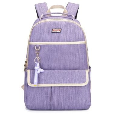 Women Backpack with Key Holder Laptop Shoulders Bag for College Travel Trip