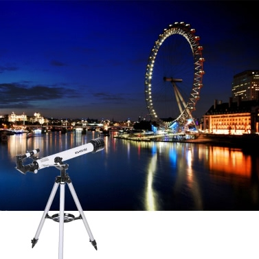 Visionking 700x60mm Refractor Space Astronomical Telescope 210X HD Monocular Spotting Scope Outdoor Portable Travel Telescope