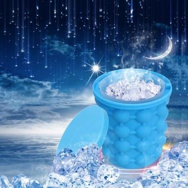 Silica Gel Ice Maker Drinks Iced Bucket