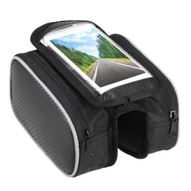 Lixada Bicycle Front Frame Touchscreen Phone Bag