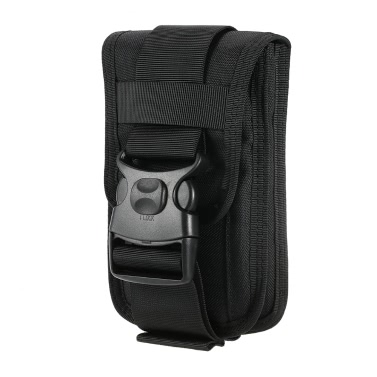 Nylon Molle Pouch Cell Phone Belt Clip Holster Utility Gadget Pouch Waist Bag Outdoor Gear iPhone