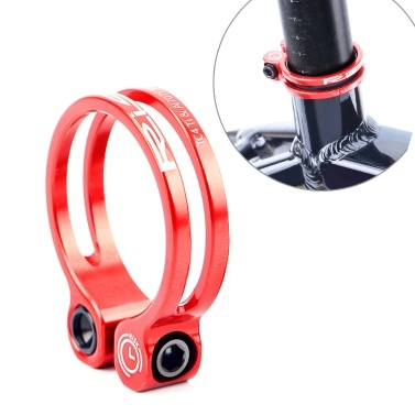 MTB Mountain Road Bicycle Seatpost Seat Tube Clamp Clip with Titanium Bolt