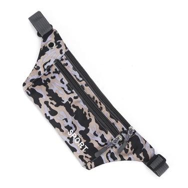 Mode Frauen Camouflage gedruckt Sport Taille Pack