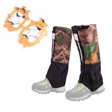 Outdoor Adult Kids Leg Gamaschen Ice Cleats Kits