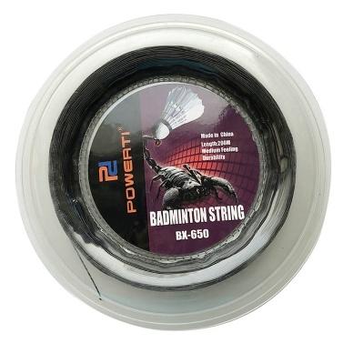 600FT 0.72mm Badmintonschläger String Badminton Trainingsschläger String Elastischer Ersatz Badminton String