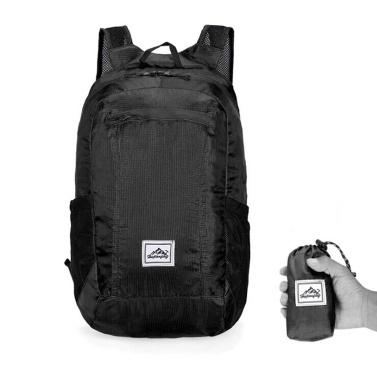 Leichter tragbarer faltbarer Rucksack
