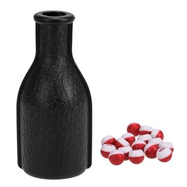 Billard Tally Flasche Plastik Pool Shaker Flasche