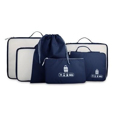 6 Set Travel Organizer Bag