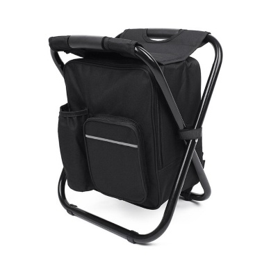 Outdoor Folding Stool Portable Backpack Chair Stool