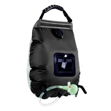 Portable Outdoor Camping Shower Bath Water Bag 20L Capacity Sunshine Heat Camping Bathing Bag