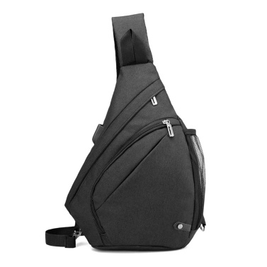 Men Sling Bag Backpack Crossbody Shoulder Bag Travel Daypack With USB Charging Port for Hiking Climbing Cycling