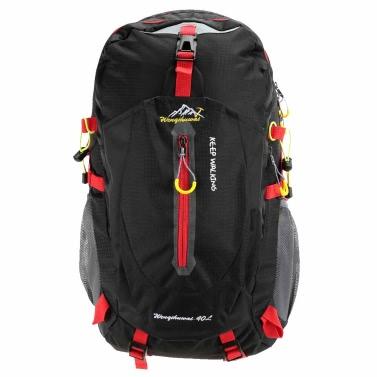 Mochila de 40L impermeable transpirable hombro al aire libre viaje senderismo montañismo Unisex morral mochila