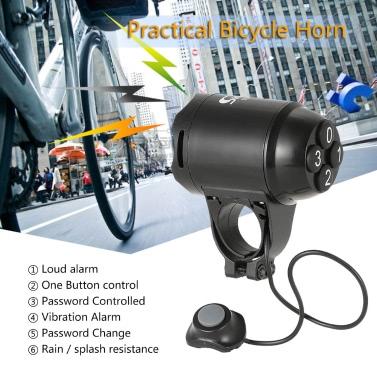 Leichtes Fahrrad Horn laut Elektrische Sirene Alarm Fahrrad-Fahrrad-Warnung Computer Elektronische Horn
