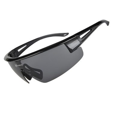 ROCKBROS Polarized 100% UV400 Blocking Cycling Sunglasses Bicycle Bike Glasses Cycling Eyewear Polarized Cycling Hiking Climbing Sunglasses Eyewear Sun Glasses Goggle 3 Colors