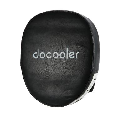 Docooler Schlags-Auflage-Verpacken-Handschuhe Trainings-Handschuhe aus Leder Ziel für freies Kampf Boxtraining