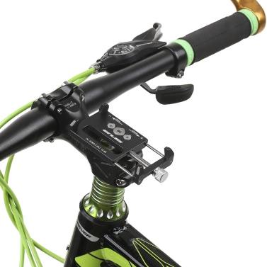 GUB Mountian自転車電話ユニバーサル調節自転車携帯電話GPSマウントホルダーブラケットクレードルクランプ