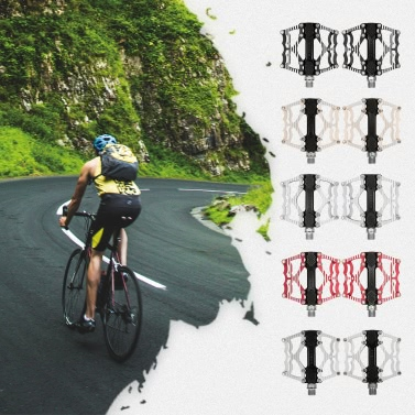 XPEDO Bicycle Pedal Aluminum Alloy Mountain Bike Pedals Road Cycling Sealed Bearing Pedals BMX Ultra Light Bike Pedal Bicycle Parts