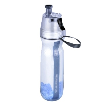 54% OFF O2COOL Keep Cool Insulated Bike Water Bottle Spray Mist,limited offer $7.99