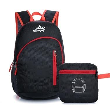 Portable Rucksack leichte wasserfeste Reise Wandern Daypack faltbare Rucksack