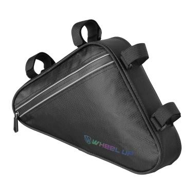 WHEEL UP Fahrradtasche Wasserdichte MTB-Rennrad-Rahmentasche Vorderrohr-Dreieckstasche Werkzeuge mit großer Kapazität Packtasche Fahrradtaschen