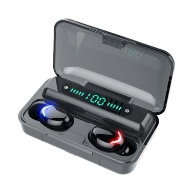 F9-5 BT Headphones True Wireless Stereo Wireless BT Headset Sports In Ear Digital Display Touching Headset Sports Headphones Earphone