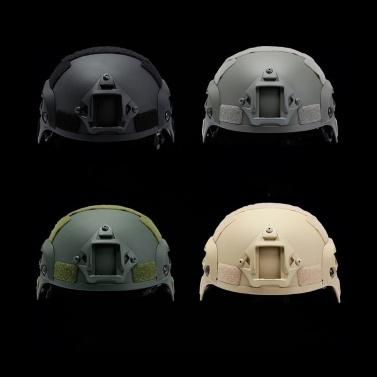 Ausrüstung für Mountainbike-Fahrradspiele Kriegsfeldoperationen Helm Sportschutzausrüstung für CS Outdoor