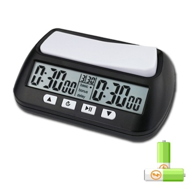3-in-1 Multipurpose Portable Professional Chess Clock Digital Chess Timer Game Timer( TP813-2)
