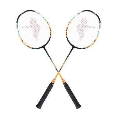2 Spieler Badmintonschläger