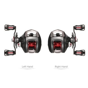 Lixada 12+1 Ball Bearings Baitcasting  Fishing Reel with Magnetic Brake System