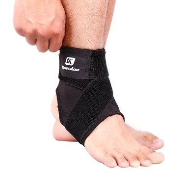 Sport Ankle Support Elastic High Protect Equipo deportivo Seguridad Correr Baloncesto Ankle Brace Support Black & S