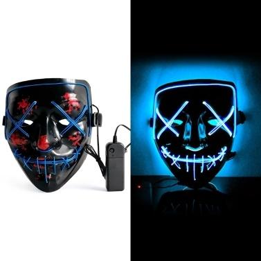 Halloween LED Maske Leuchtende Maske