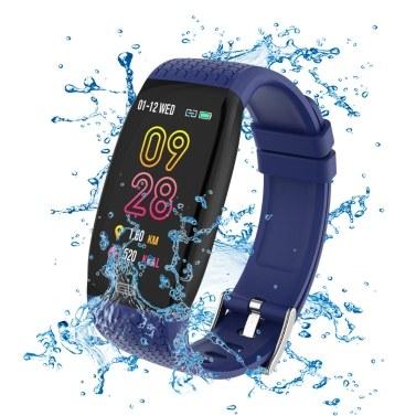 Ultraleichtes intelligentes Armband IP67 Sport-Schrittzähler Fitness Tracker Herzfrequenz-Blutdruckmessgerät Intelligentes Armband