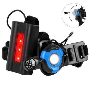 PX5 Wasserdicht verstellbare Laufkiste USB Wiederaufladbare Sportlampe