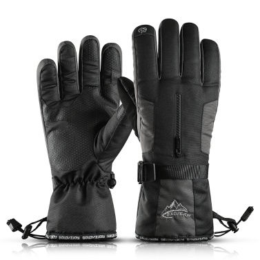 Skiing Gloves Men Women Winter Warm Gloves Windproof Snow Gloves Water Resistant Sports Gloves For Skiing Cycling Climbing