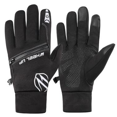 Waterproof Glove All Fingers Touchscreen Waterproof Winter Sports Running Cycling Biking Gloves for Men