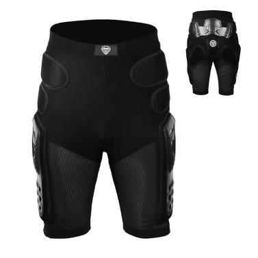 Hip Protection Riding Armor Pants Protective Pad Shorts for Motorcycling Mountain Bike Cycling Skiing Skating Snowboarding