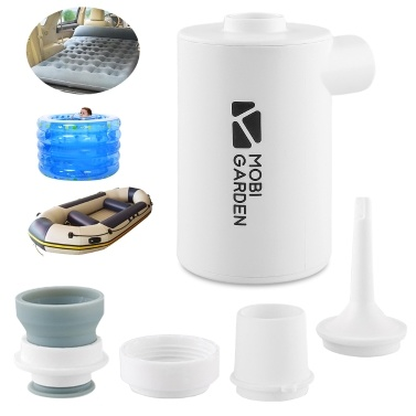 Portable Mini Air Pump USB Rechargeable Compact Air Pump with 1300mAh/3600mAh Lithium Battery Lightweight Air Pump