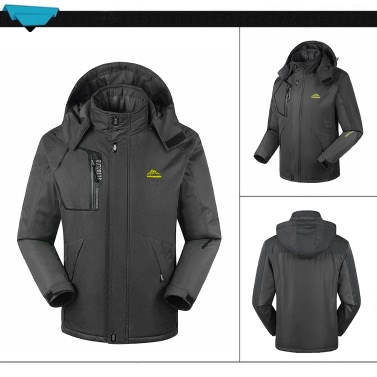FH-1688 Herren Winddichte Fleece Winter Outdoor Sportjacke