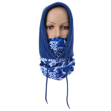 Winter Fleece Warm Hat Motorcycle Windproof Face Mask Hat Neck Helmet Beanies Unisex Bicycle Thermal Fleece Hat