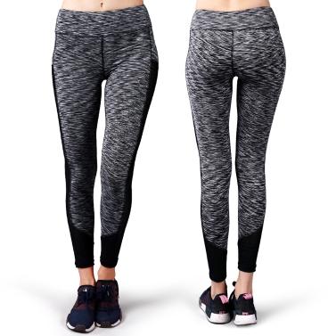 Lixada Frauen Yoga Knöchel Hosen Bauch Control Active Workout Fitness Lauf Stretch Strumpfhosen Leggings