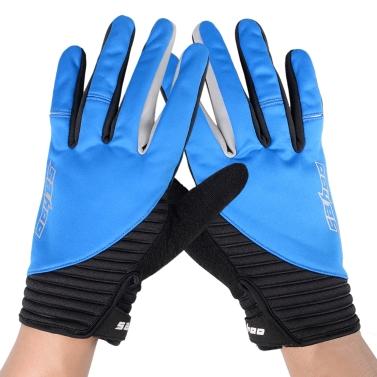 SAHOO Winter Outdoor Full Finger Windproof Touchscreen Cycling Gloves for Men Women