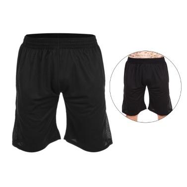 Lixada Sommer schnell trocken Gym Sport Shorts Crossfit Herren Activewear Fußball Fitness Workout Jogging Laufen Sport Active Wear mit Taschen