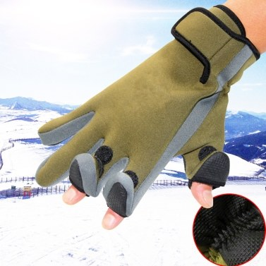 Fishing Gloves Seasons Fishing Mitts Wear Resistant Fishing Gloves Hunting Cycling Working Training Gloves