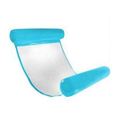 Netted Hammock Foldable Dual Backrest Blue