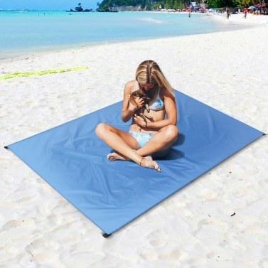 Wasserdichte Taschen-Strand-Decke Leichte kompakte Picknick-Matten-Grundblatt-Plane im Freien
