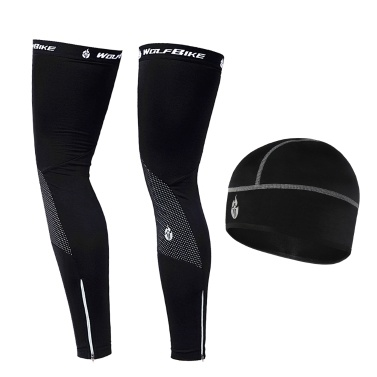 Windproof Warm Cycling Cap and Leg