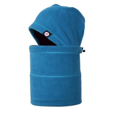 Winter Anti-static Fleece Neck Gaiter Hat Warmer Set