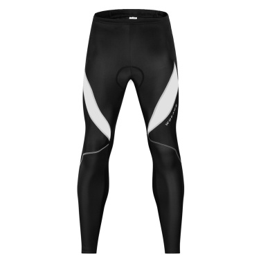 Men Bicycle Pants 3D Padded Road Bike Cycling Pants Windproof Thermal Biking Running Tights