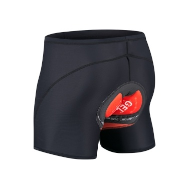 Men Women Padded Cycling Shorts Thick Breathable Stretchable Bodycon Bike Bicycle Shorts Underwear