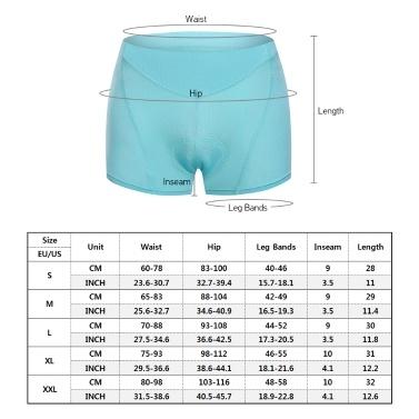 Women Cycling Underwear 3D Padded Breathable Mesh MTB Bike Riding Biking Underwear Shorts
